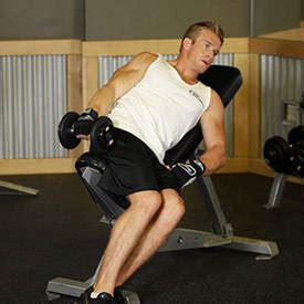 side bench exercise one arm incline lateral raise exercise guide and video