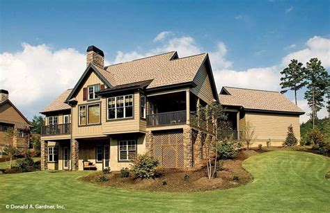 Riva Ridge House Plan The Riva Ridge House Plan Rear Exterior Homes Ideals Exterior And House