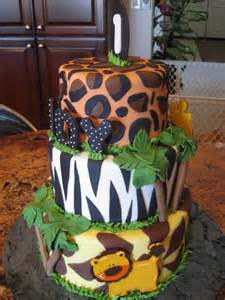 themed cake decorations jungle cakes decoration ideas birthday cakes
