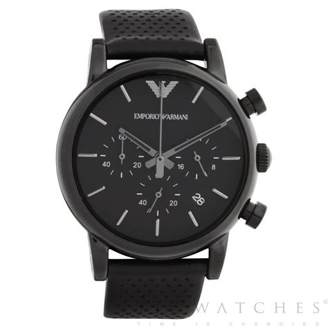 Victorinox Swiss Army Fullblack emporio armani black chronograph ar1737 uk