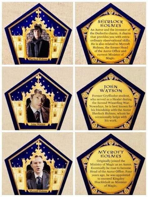 Chocolate Frog Trading Card Template by 51 Best Chocolate Frog Cards Images On Harry