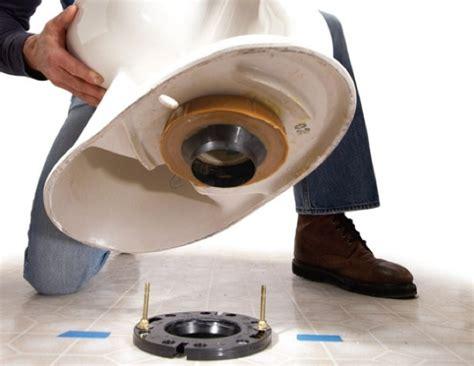 How To Remove A Closet Flange how to replace a toilet bob vila