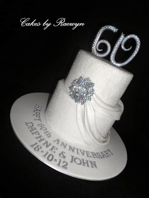 17 Best images about 60th wedding anniversary cakes on