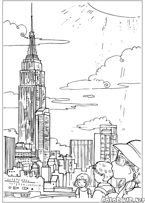 Coloring Page Grand Canyon