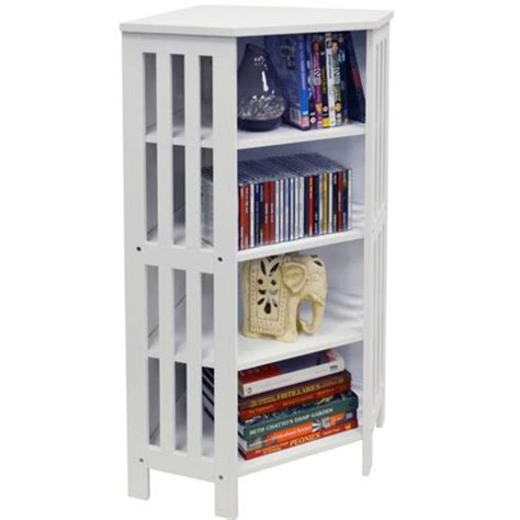 buy mission corner cd dvd media storage shelf