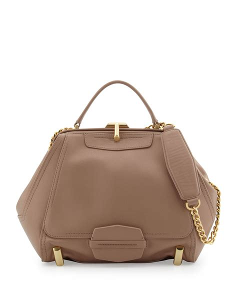 Zac Posens Satchel Handbag Is Way Better In Than Black by Zac Zac Posen Tophandle Bowler Bag Blush In Pink