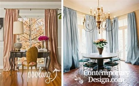 Should Dining Room Curtains Touch The Floor Should Curtains Go To The Floor Decorating How Low
