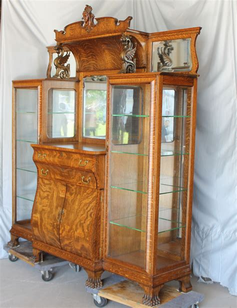 antique oak china buffet cabinet   28 images   bargain s antiques 187 archive antique oak