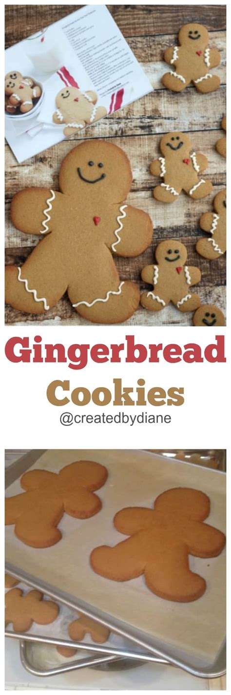gingerbread boy cookie with printable template