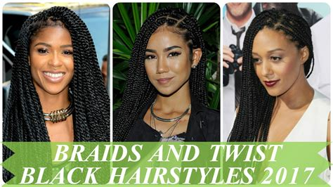 Braids Hairstyles For Black 2017 by Braids And Twist Black Hairstyles 2017