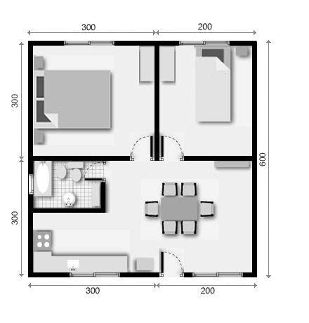 casas de 30 metros cuadrados planos de casas de 30 metros cuadrados ideas para el hogar