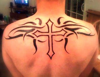 tribal cross tattoos on back 100 unique tribal back tattoos designs best 25