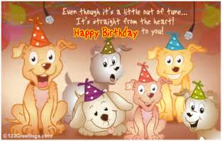 singing birthday cards for children from all of us free songs ecards greeting cards 123