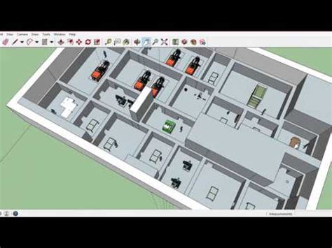 cara membuat layout pabrik dengan visio pabrik simping layout fri 063 youtube