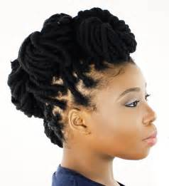 can you get faux locks on relaxed hair 40 updo hairstyles for black women ranging from elegant to
