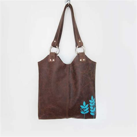 Handmade Purses For Sale - brown leather handbags for sale
