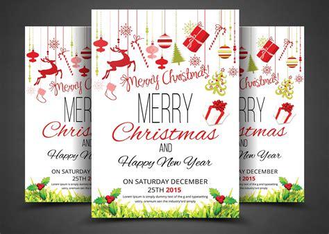 creative christmas party invitations flyer invitation flyer templates creative market
