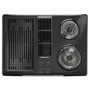 Used Electric Cooktop Jennair 30 Electric Downdraft Cooktop With Grill And Two