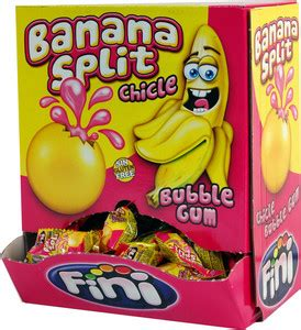 Grummypy Bubblegum Banana Liquid fini liquid banana split gum kinderartikelen assortiment foox willie robben bv