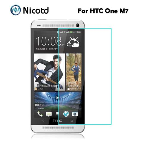 Mak Tempered Glass 2 5d Htc One M7 for htc one m7 tempered glass original 9h 2 5d protective