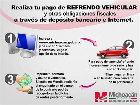 pago de refrendo vehicular edomex 2016 pago de tenencias guanajuato 2016 pago de tenencia