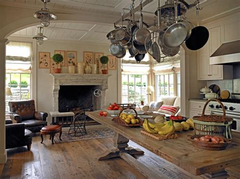country kitchen new york upstate new york chic traditional country retreat