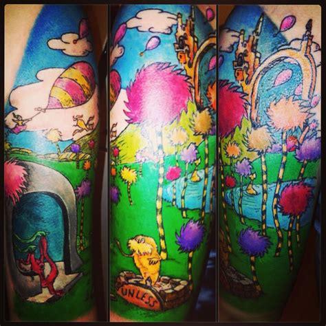 dr seuss tattoo  eryka aterykane ink nerdy tattoos