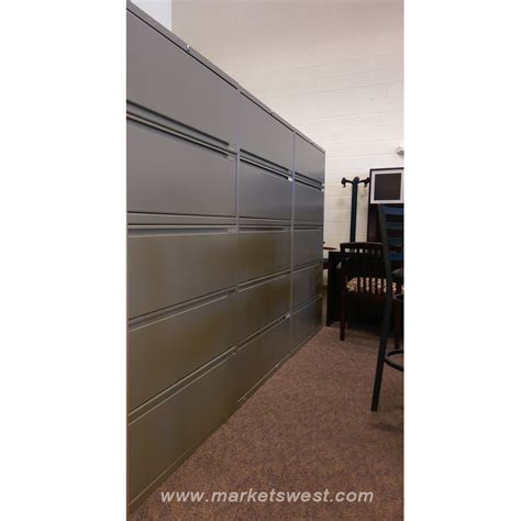 5 drawer metal filing cabinet used 5 drawer office specialty brand metal lateral file cabinet