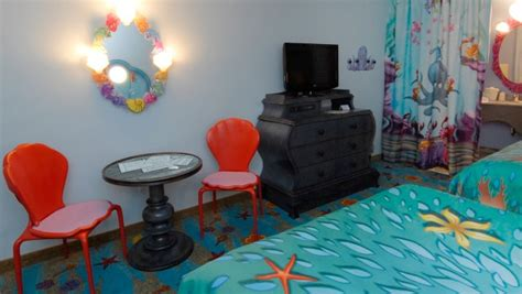 of animation mermaid room