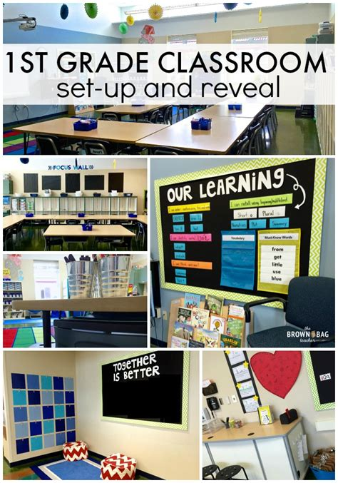 classroom layout ideas year 1 1st grade classroom reveal 2015 2016 the brown bag