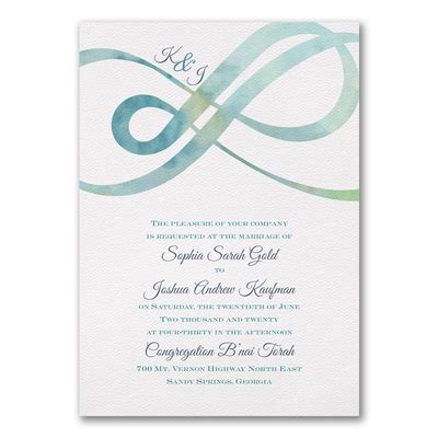 Infinity   Invitation > Wedding Invitations   Carlson