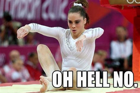 Gymnast Meme - the internet falls for mckayla memes of top gymnast whose