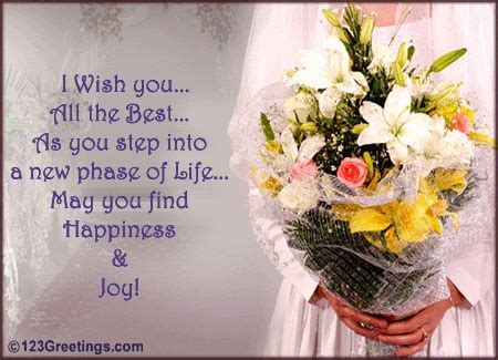 All The Best! Free Wedding Etc eCards, Greeting Cards