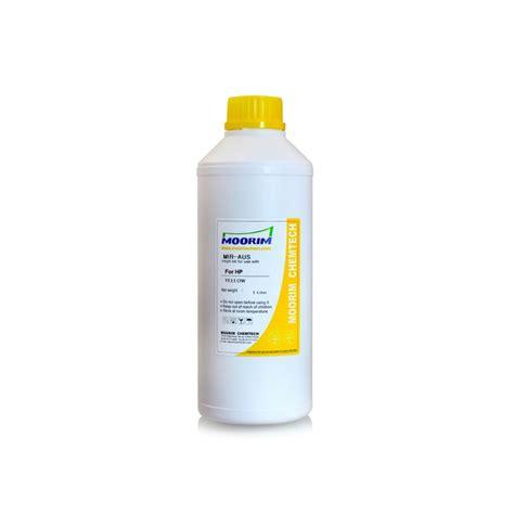 Tinta Universal Yellow 1 Liter Tinta Refill Printer Dye Base 1 liter kuning tinta untuk hp