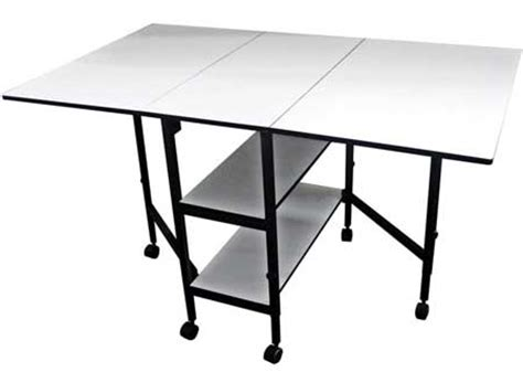 art tables for adults sullivans home hobby adjustable height foldable table