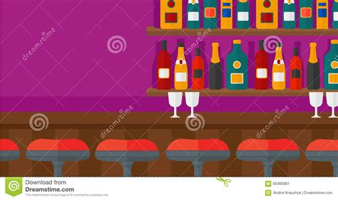 Bar Horizontal Background 1 background of bar counter stock vector image 65985881