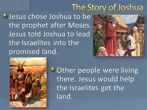 a s story daughters of the promised land books lesson 23 joshua leads israel primary 6 testament