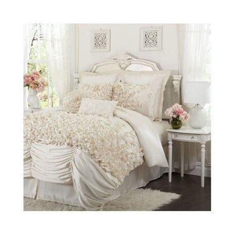 french country parisian ivory white comforter set shabby