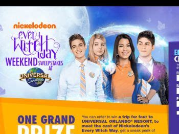Today Show Universal Studios Sweepstakes - nick com every witch way weekend sweepstakes sweepstakes fanatics