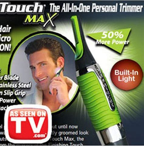 Es Touch Hair Remover And Trimmer As Seen On Tv new microtouch max nose ear neck eyebrow hair trimmer remover as seen on tv ebay