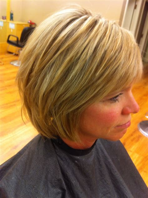 short layered bob hairstyles  fine hair hairstyle