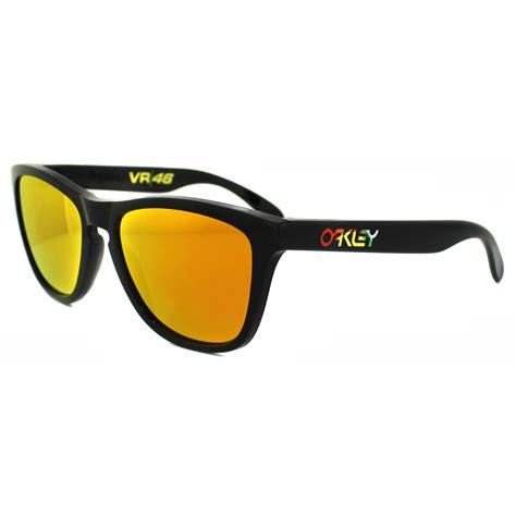 Oakley Vr46 oakley sunglasses frogskins 24 325 polished black iridium vr46 ebay