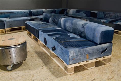denim home recycle furniture iroonie