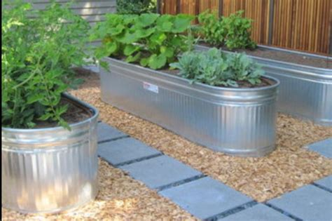 galvanized raised garden bed pin by melissa lapham on gardening scenery pinterest