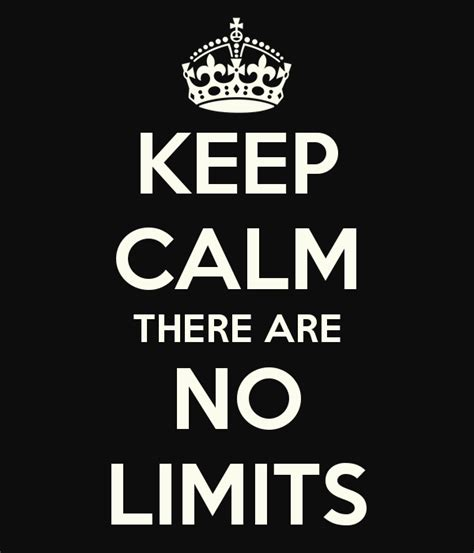 No Limit Vs Limit 3 by Get Moving Mondays No Limits