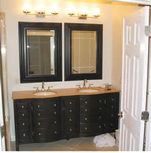 Framed Bathroom Mirrors Ideas by Interior Framed Bathroom Vanity Mirrors Corner Sinks For