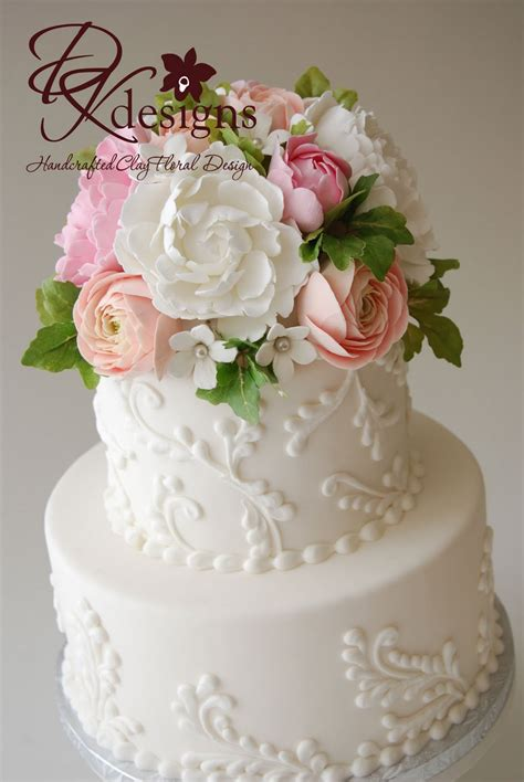 flower wedding cake topper wedding accessories ideas