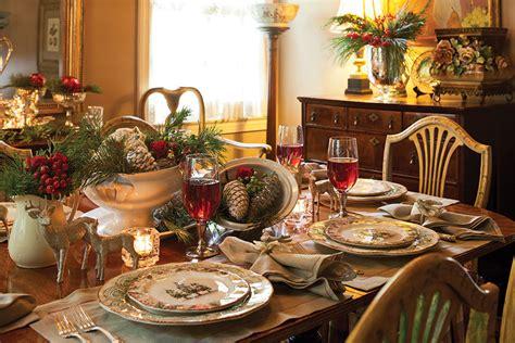 elegant christmas tablescape page    cottage journal
