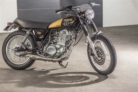 Yamaha Motorrad Sr 400 by Auspuffanlage Sr 400 Von Sc Project Benders Company