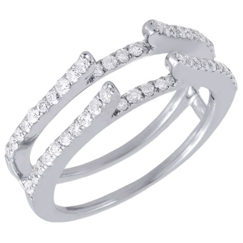 wedding ring enhancers white gold minimalist navokal